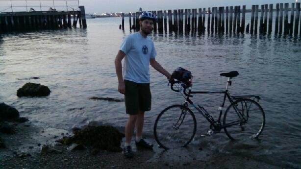 biking dude